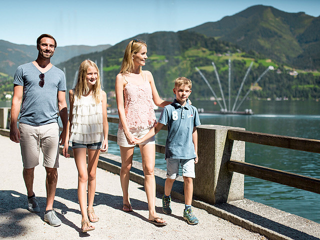 Sport familienurlaub zell am see 4 hotel alpin for Ferien am see